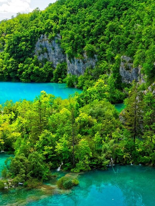 Lacs et cascades de Plitvice